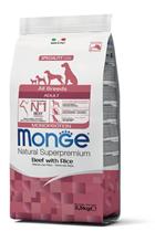 Monge Dog Monoprotein Adult All Breeds Beef with Rice / Сухой корм Монж Монопротеиновый для собак всех пород Говядина с рисом
