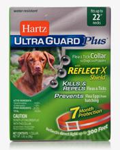 Заказать Hartz Dog & Puppy Ultra Guard Plus Collar / Ошейник Инсектоакарицидный для собак и щенков (обхват шеи до 56 см) Белый по цене 860 руб