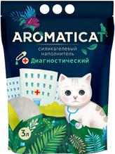 AromatiCat / Наполнитель Ароматикэт для кошачьего туалета Диагностический с гранулами-индикаторами pH Силикагелевый без запаха