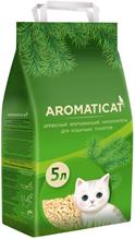 AromatiCat / Наполнитель Ароматикэт для кошачьего туалета Древесный без запаха