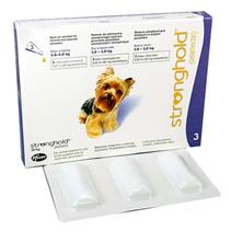 Zoetis Stronghold / Капли Стронгхолд Инсектоакарицидные для собак весом от 2,5 до 5 кг 12% 30мг