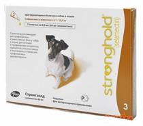 Zoetis Stronghold / Капли Стронгхолд Инсектоакарицидные для собак весом от 5 до 10 кг 12% 60мг