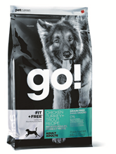 Заказать GO! NATURAL holistic Fit + Free Grain Free All life Stages / Сухой Беззерновой корм для собак Всех возрастов 4 вида мяса Индейка Курица Лосось Утка по цене 220 руб