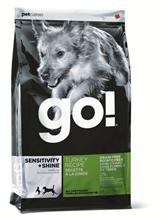 Заказать GO! Sensitivity + Shine LID Turkey Recipe / Сухой Беззерновой корм для Щенков и собак с Чувствительным пищеварением Индейка по цене 1890 руб