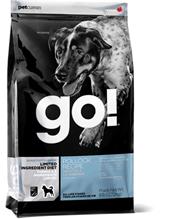 Заказать GO! Sensitivity + Shine LID Pollock Recipe Grain Free Potato Free / Сухой Беззерновой корм для Щенков и собак с Чувствительным пищеварением Минтай по цене 1740 руб