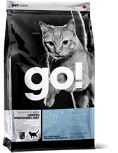 Заказать GO! NATURAL holistic Sensitivity + Shine Grain Free Pollock Recipe / Сухой Беззерновой корм для Котят и кошек с Чувствительным пищеварением Треска по цене 1400 руб