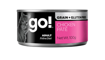 Заказать GO! Grain Free Chicken Pate CF / Беззерновые консервы для кошек Курица Цена за упаковку по цене 720 руб