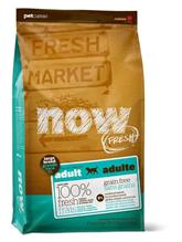 NOW Natural holistic Fresh Adult Large Breed Recipe Grain Free 27 / 13 / Сухой корм Нау Фреш Беззерновой для взрослых собак Крупных пород Индейка Утка Овощи