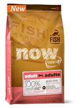 NOW Natural holistic Fresh Grain Free Fish Adult Recipe DF 24 / 14 / Сухой корм Нау Фреш Беззерновой для взрослых собак с Чувствительным пищеварением Форель Лосось