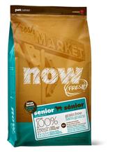 NOW Natural holistic Fresh Senior Large Breed Recipe Grain Free 25 / 11 / Сухой корм Нау Фреш Беззерновой Контроль веса для Пожилых и Взрослых собак Крупных пород с Избыточным весом Индейка Утка Овощи