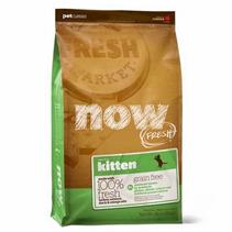 NOW Natural holistic Fresh Cat Grain Free Kitten Recipe 33 / 20 / Сухой корм Нау Фреш Беззерновой для Котят Индейка Утка Овощи