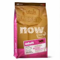 NOW Natural holistic Fresh Cat Grain Free Adult Recipe 31 / 18 / Сухой корм Нау Фреш Беззерновой для взрослых кошек Индейка Утка Овощи