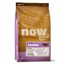 NOW Natural holistic Fresh Cat Grain Free Senior Recipe 30 / 14 / Сухой корм Нау Фреш Беззерновой Контроль веса для Пожилых и Взрослых кошек с Избыточным весом Индейка Утка Овощи
