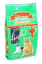 Franks ProGold Light 29 / 12 / Сухой корм Фрэнкс ПроГолд для кошек с Избыточным весом
