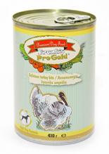 """Franks ProGold Delicious turkey bits Adult Dog Recipe / Консервы Фрэнкс ПроГолд для собак """"Аппетитные кусочки Индейки"""" (цена за упаковку)"""