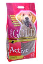 Заказать NERO GOLD super premium Adult Active / Сухой корм для взрослых Активных и Энергичных собак Курица и рис по цене 2560 руб