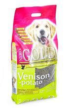 NERO GOLD super premium Venison & Potato / Сухой корм Неро Голд для взрослых собак Оленина и сладкий картофель