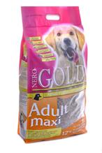 NERO GOLD super premium Adult Maxi / Сухой корм Неро Голд для взрослых собак Крупных пород