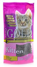 NERO GOLD super premium Kitten Chicken / Сухой корм Неро Голд для Котят Курица