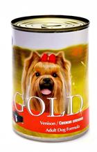 NERO GOLD Venison / Консервы Неро Голд для собак Свежая оленина (цена за упаковку)