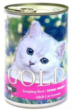 Заказать NERO GOLD Tempting Beef / Консервы для кошек Сочная говядина Цена за упаковку по цене 2352 руб