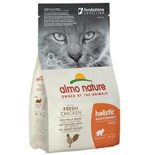 Almo Nature Holistic Adult Cat Chicken & Rice / Сухой корм Алмо Натюр Холистик для взрослых кошек Курица и коричневый рис