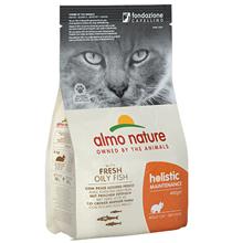 Almo Nature Holistic Adult Cat White Fish & Rice / Сухой корм Алмо Натюр Холистик для взрослых кошек Жирная рыба и коричневый рис