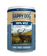 Happy Dog 100% Wild / Консервы Хэппи Дог для собак Монобелковые Дичь (цена за упаковку, Германия)