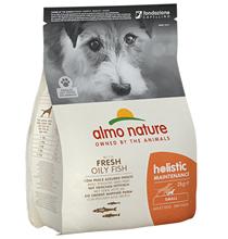 Almo Nature Holistic Small Adult White Fish and Rice / Сухой корм Алмо Натюр Холистик для взрослых собак Малых пород с Рыбой
