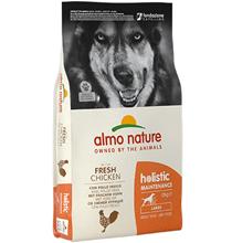 Almo Nature Holistic Large Adult Chicken / Сухой корм Алмо Натюр Холистик для взрослых собак Крупных пород с Курицей