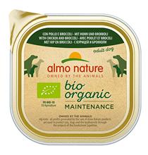 Almo Nature Daily Menu Bio Pate Chicken & Brocolli / Паштет Алмо Натюр для собак Био-меню с Курицей и Брокколи (цена за упаковку)