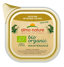 Almo Nature Daily Menu Bio Pate Turkey / Паштет Алмо Натюр для собак Био-меню с Индейкой (цена за упаковку)