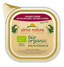 Almo Nature Daily Menu Bio Pate Beef & Vegetables / Паштет Алмо Натюр для собак Био-меню с Говядиной и овощами (цена за упаковку)