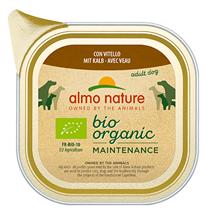 Almo Nature Daily Menu Bio Pate Veal / Паштет Алмо Натюр для собак Био-меню с Телятиной (цена за упаковку)