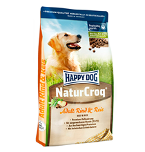 Happy Dog NaturCroq Adult Rind & Reis / Сухой корм Хэппи Дог НатурКрок Говядина с Рисом