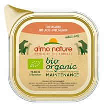 Almo Nature Daily Menu Bio Pate Salmon / Паштет Алмо Натюр для собак Био-меню с Лососем (цена за упаковку)
