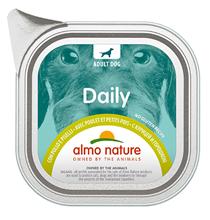 Almo Nature Daily Menu Chicken with Pease / Консервы Алмо Натюр для собак Меню с Курицей и горошком (цена за упаковку)