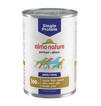 Заказать Almo Nature Single Protein Duck / Консервы для собак с Чувствительным пищеварением Монобелковый рацион с Уткой (цена за упаковку) по цене 4220 руб