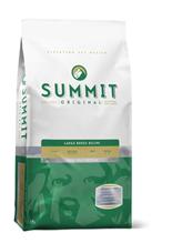 Summit holistic Original Three Meat Large Breed Recipe / Сухой корм Саммит Ориджинал для собак Крупных пород 3 вида мяса Цыпленок Ягненок Лосось