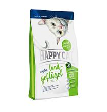 Happy Cat Sensitive Land-Geflugel / Сухой корм Хэппи Кэт для кошек c Чувствительным пищеварением Домашняя Птица