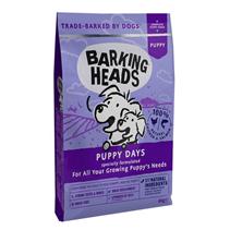 Barking Heads Puppy Days Grain free / Сухой Беззерновой корм Баркинг Хэдс для Щенков 'Щенячьи деньки' Лосось Курица