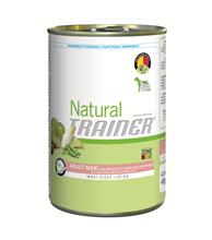 Заказать Trainer Natural Maxi Adult Dry-Cured Ham & Rice Royal Jelly / Сухой корм для взрослых собак Крупных пород Сыровяленая ветчина Рис и маточное молочко по цене 4200 руб