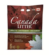 Canada Litter Unscented / Комкующийся наполнитель Канада Литэр для кошачьего туалета Запах на Замке Без запаха