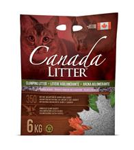 Canada Litter Light Lavender Scent / Комкующийся наполнитель Канада Литэр для кошачьего туалета Запах на Замке легкий аромат Лаванды