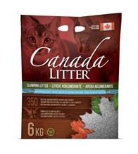 Canada Litter Light Baby Powder Scent / Комкующийся наполнитель Канада Литэр для кошачьего туалета Запах на Замке аромат Детской присыпки