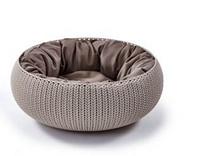 Заказать Curver PetLife / Лежак для животных Вязанный комфорт с подушкой Ø54х20,2см по цене 7140 руб