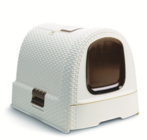 Curver PetLife / Туалет-домик Кервер Петлайф для кошек 51 х 39 х 40 см