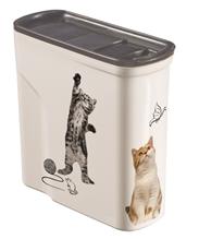 Curver PetLife / Контейнер Кервер Петлайф для корма с рисунком Сладкие котята объем 15 л (6 кг)