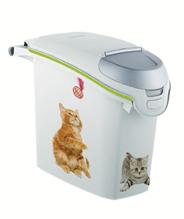 Заказать Curver PetLife Контейнер для корма рисунок Кошачьи Цап-царапки 10кг / 23л по цене 2100 руб
