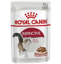 Royal Canin Instinctive / Влажный корм (Консервы-Паучи) Роял Канин Инстинктив для Взрослых кошек старше 1 года в Соусе (цена за упаковку)